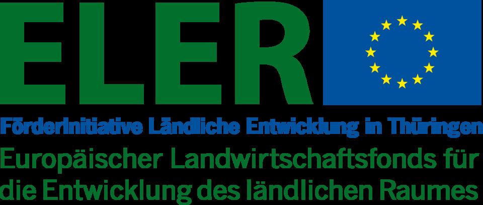 Logo ELER Förderinitiative Ländliche Entwicklung in Thüringen